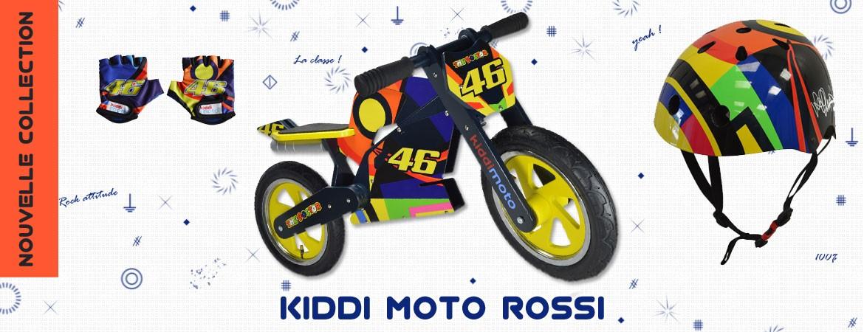 KIDDY Moto nouveau modèle Rossi