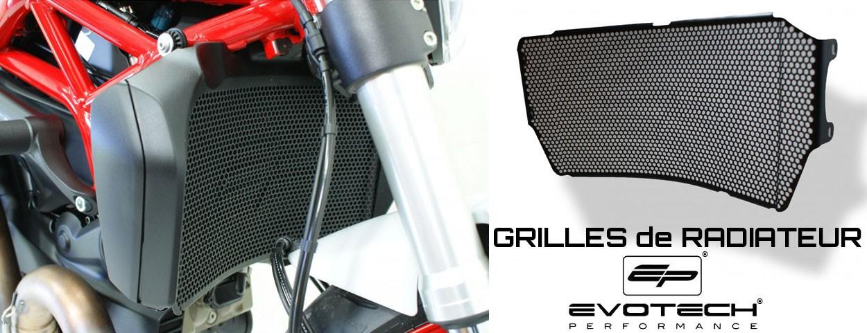Grilles de radiateurs EvoTech Performance
