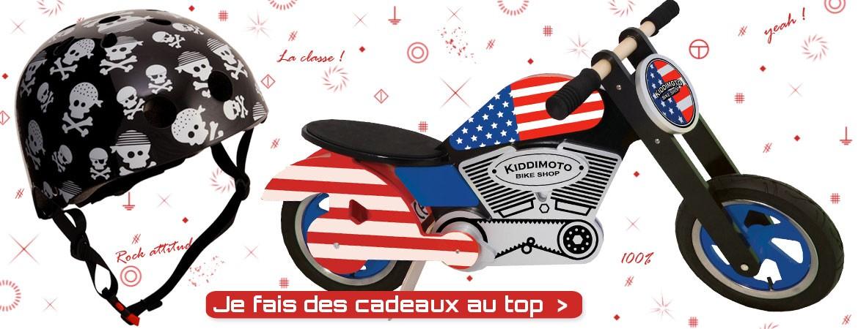Cadeaux pour enfant moto et casque - dresienne