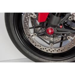 Bouchon de pied de fourche côté gauche de roue avant CNC Racing