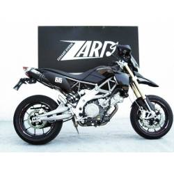 Collecteur d échappement racing Zard Aprilia Dorsoduro