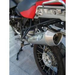 Echappements inox chrome homologue Zard BMW R1200GS
