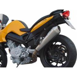 Echappements inox satine racing Zard BMW F 800 S ST
