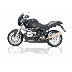Echappements inox satine homologue Zard BMW R1200R