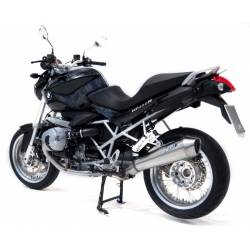Echappements inox effet chrome racing Zard BMW R1200R