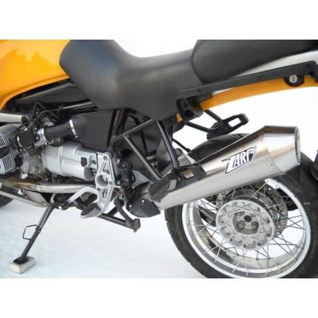 Echappements inox satine homologue cat Zard BMW F 800 R