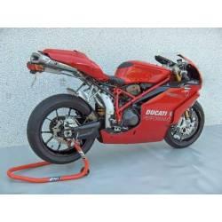 Ligne d échappement 2 en 1 en 2 racing inox-titane Zard Ducati 749 999 S R