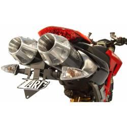Ligne complète échappement haute 2 en 1 racing inox titane scudo Zard Ducati Hypermotard 796
