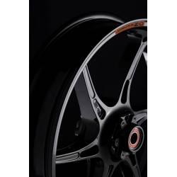 Roue avant 17 x 3.5 magnesium forge Cattiva OZ Suzuki GSXR 750