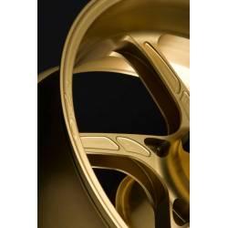 Roue arrière 17 x 5.5 aluminium forge pour version monobras Piega R pour piste OZ