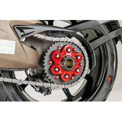 Flasque porte couronne 6 trous CNC Racing Ducati