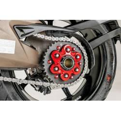 Flasque porte couronne 6 trous CNC Racing Ducati