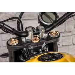 Réglage de précharge ressort de fourche HEX 17mm CNC Racing Ducati *