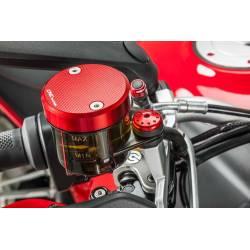 Couvercle CNC Racing pour bocaux frein embrayage avant origine dia56mm