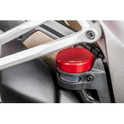 Couvercle CNC Racing pour bocaux frein embrayage arrière origine dia46mm
