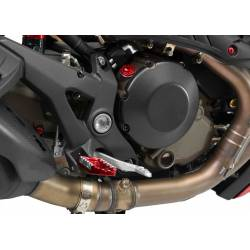 Protection de carter d embrayage carbone CNC Racing Ducati Monster 1200