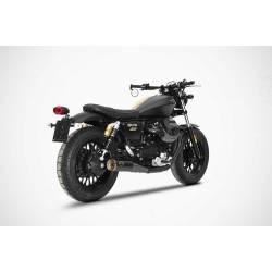 Double échappements modèle SLIM inox racing Moto Guzzi Bobber