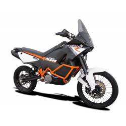 Echapp Evoxtrem 310mm HP Corse noir racing KTM 990 Adventure