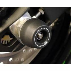 Kawasaki ZX 10 R roulette de protection d axe de roue arrière