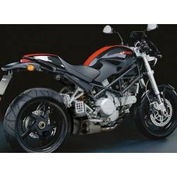Echappement ex-box Ducati Monster S2R 800