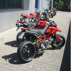 Echappement ex-box Ducati Hypermotard 1100 homologué