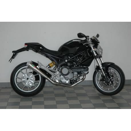 Ligne complète conique inox Ducati Monster 1100