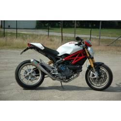 Ligne complète échappement inox Ducati Monster 796