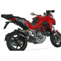 Ligne complète double échappement carbone Ducati Multistrada 1200