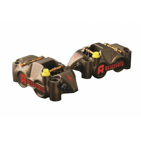 Etrier cnc monobloc pistons titane entraxe 108