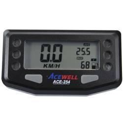 Compteur digital Acewell modèle 254 noir