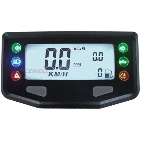 Compteur digital Acewell modèle 257 noir