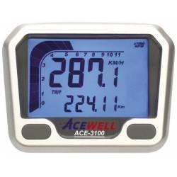 Compteur digital Acewell modèle 3100 argenté