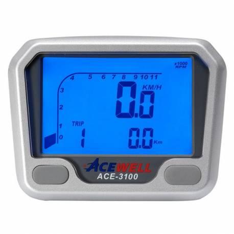 Compteur digital Acewell modèle 3100 noir