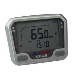 Compteur digital Acewell modèle 3252 argenté