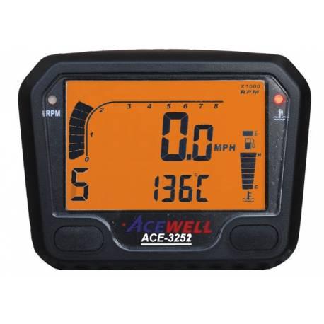 Compteur digital Acewell modèle 3252 noir