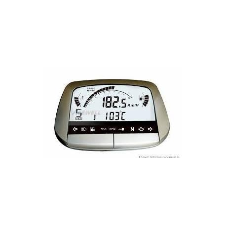 Compteur digital Acewell modèle 5854 argenté