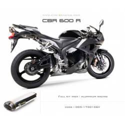 Ligne complète échappement M2 en aluminium Honda CBR600