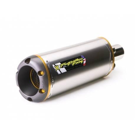 Echappement M2 titane avec suppresseur de catalysateur Kawasaki ZX 10 R