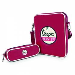 Sac Vespa servizio rouge pour tablette