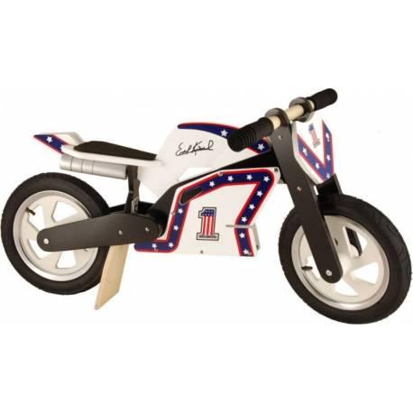Draisienne bois Superbike Evel Knievel Kiddimoto