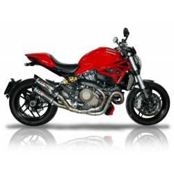 Double échappement carbone Ducati Monster 821