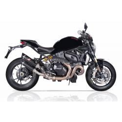 Double échappement carbone Ducati Monster1200R et s