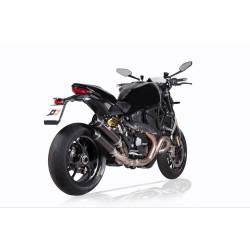 Double échappement titane Ducati Monster1200R et s