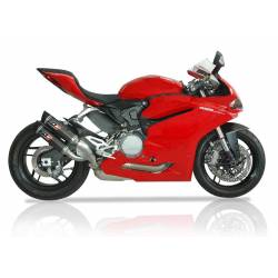 Double silencieux titane Ducati Panigale 959
