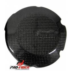 Protection carter alt moto en carbone pour Aprilia