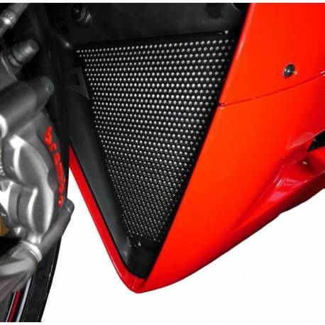 Ducati Panigale protection de radiateur position basse Evotech Performance