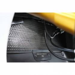 Ducati Panigale protection de radiateur position haute Evotech Performance