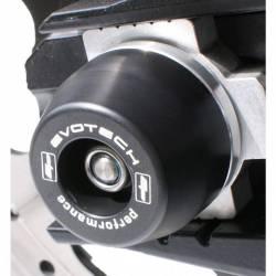 Triumph street-dayto roulette de protection d axe de roue arrière