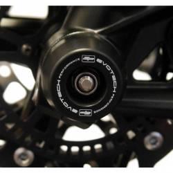 Kawasaki ZX 10 R H2 roulette de protection d axe de roue avant