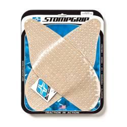 Grip de réservoir moto transparent autocollant Stompgrip Suzuki GSXR 600 et 750